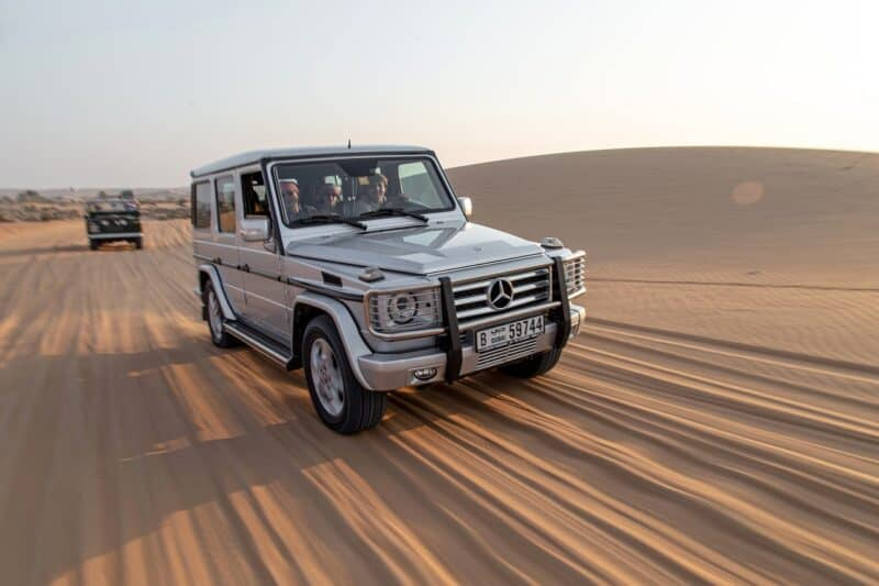 Luxury Dubai desert safari with Mercedes G Class
